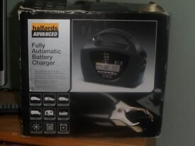 Halfords battery charger