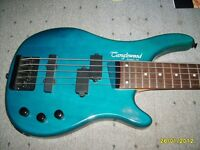 Tanglewood Rebel 5K bass Guitar. Immaculate as new condition as rarely played!
