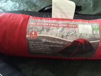4 Birth tent, and lots of camping gear