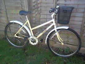 RAYLEIGH CLASSIC VINTAGE LADYS ALL TERRAIN BIKE.