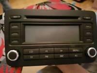VW PASSAT B6 2010 ?RADIO STEREO CD PLAYER HEAD UNIT 05-2011