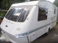 elddis hurricane 1999 2 berth caravan in good condition