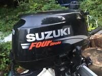 Suzuki 6Hp Longshaft Outboard