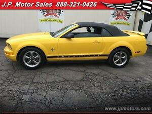 2006 Ford Mustang V6, Automatic, Leather, Convertible Oakville / Halton Region Toronto (GTA) image 3