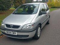 2005 automatic Vauxhall Zafira 7 seater family car 1 year MOT full service history