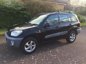 Toyota RAV4 2ltr estate 51reg new model fsh