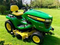 "John Deere X540 Ride On Mower - 48"" Mulch Deck - Lawnmower - Countax/Kubota/Westwood"