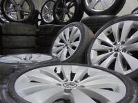 17inch GENUINE scirroco vw mk6 7 bbs 5x112 alloys wheels golf mk5 caddy a3 t4 t3 transporter camper