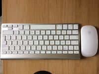 Apple Magic Mouse and bluetooth keyboard