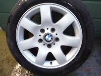 bmw alloy wheels and tyres x 4