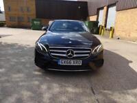 Mercedes-Benz E Class E 220 D SE (black) 2016