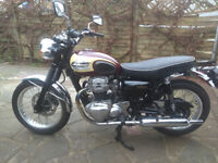 Kawasaki W650 5474 mls outstanding condition for sale  London