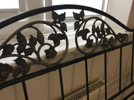 Steel/iron decorative super king size headboard