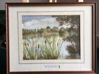 Watercolour by Frank Booth i987