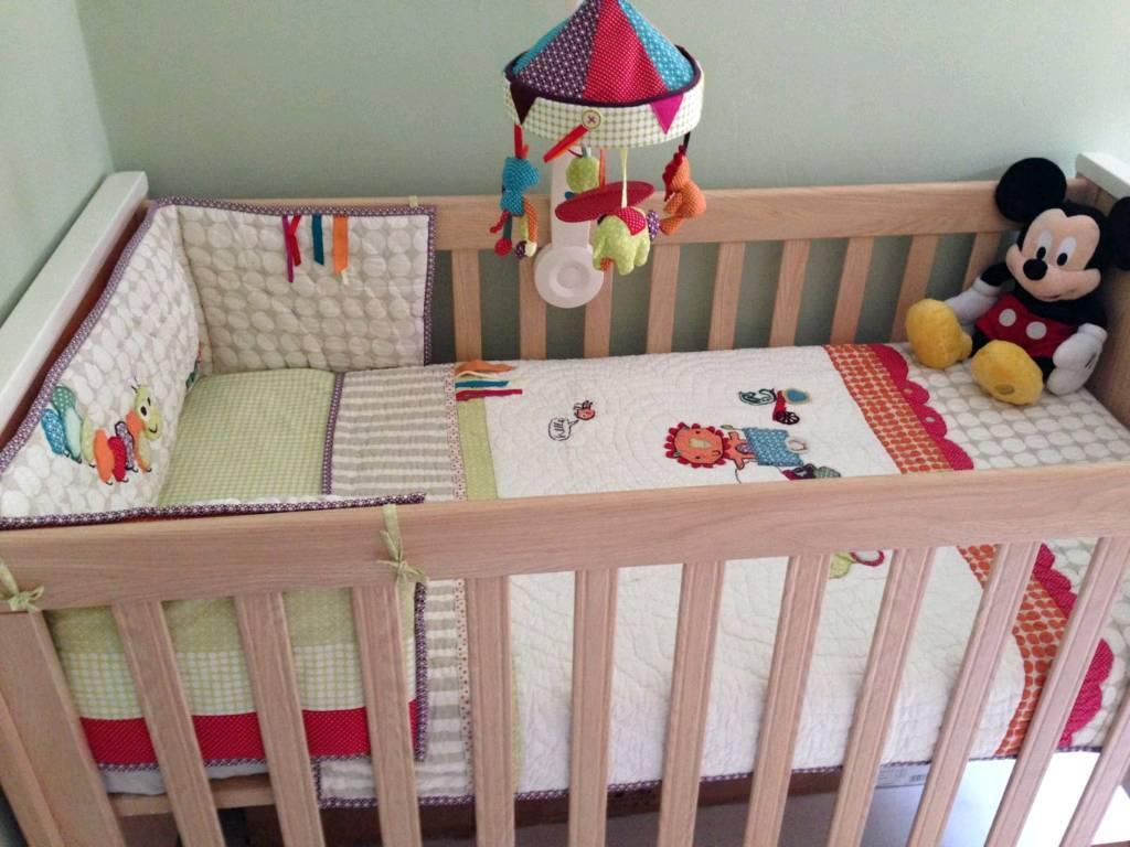 mamas and papas rialto cot bed instructions