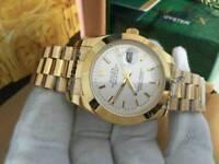 Rolex Datejust 2, golden case