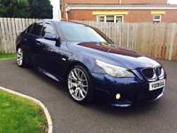 BMW 520D M Sport Saloon 2008 Low Mileage Cream Leather Heated Seats