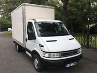 Iveco daily Luton box van 2.3 td 2007 one owner 44000 fsh ful year mot mint van fully serviced maypx