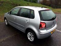 2007 VW Polo S80 - F.S - 12 M.O.T - Paperwork - 48k Miles - Top Spec - Bargain F.C.P £5500