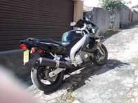 Yamaha thundercat 6oo black and silver