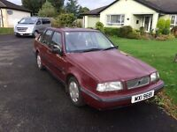 VOLVO 440 PARTS REPAIR USED ON TV SERIES RETRO CAR DRIVES STARTS GREAT PERFECT ROAD TRIP VEHICLE