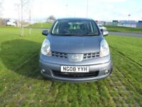 Nissan Note 2008 1.4 16v Acenta 5dr ULTRA LOW MILES