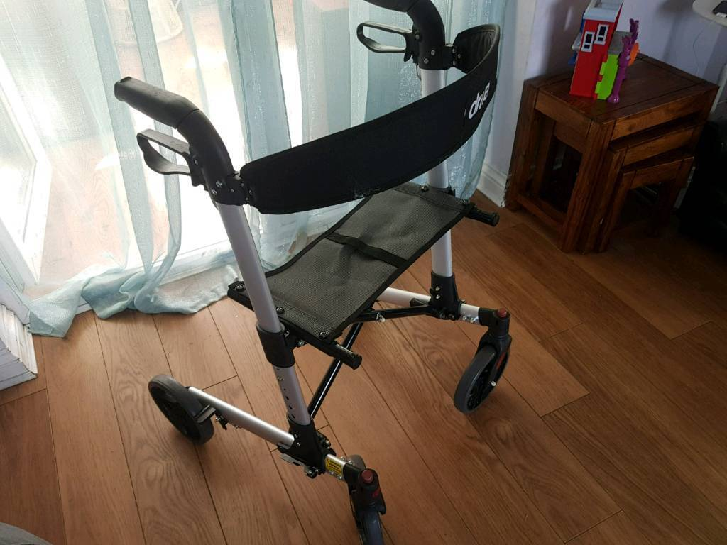 4 wheeled walking frame with seat | in Mansfield, Nottinghamshire ...