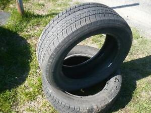 Two 225-60-17 tires $90.00