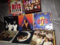 Selection of 8 tetro vinyle lp,s