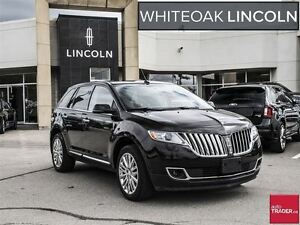 2013 Lincoln MKX One owner trade with .nav/roof/blind spot