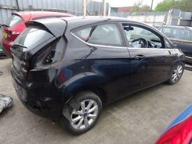Ford Fiesta 1.4 TDCI @ 1.25 Petrol Breaking [ 2009 ]