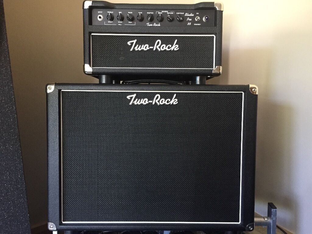 Two Rock Studio Pro 35 Head amp Matching 1x12 Cab Boutique  : 86 from www.gumtree.com size 1024 x 768 jpeg 155kB
