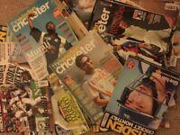 Wisden cricketer monthly magazines