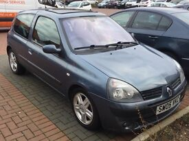 Renault Clio 1.4 05 plate for QUICK SALE