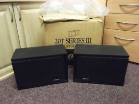 bose 201 series 3 direct reflecting speakers BOXED