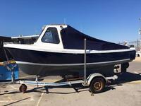 16ft Oyster Fishing Boat 1.8 BMC Inboard Diesel Engine