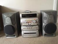 Sony mini hifi unit & speakers