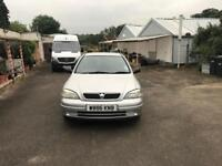 Vauxhall Astra Automatic 1.6 Petrol very low Mileage with 1 Year Mot & service History
