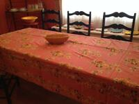 Vintage kitchen Rare Print #2. April Cornell Tablecloth.NWT.