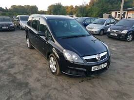 Zafira Breeze 1.9L CDTI Diesel 5DR 2008 long mot service history excellent condition