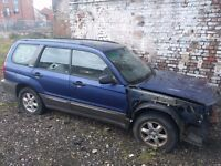 2003 Subaru Forester 2.0X Spares Breaking AWD