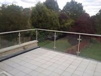 Spacious and beautiful one bedroom flat with large roof terrace