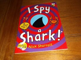 I Spy a Shark, children's book, in excellent condition