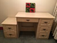 Dressing Table and Bedside Cabinet
