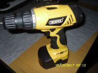 Draper 14.4V Cordless Drill 36018 Must Have DIY TOOL