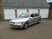 VAUXHALL VECTRA LS 1796cc, petrol. 2001, 75,000 mls. Silver, 5 Door Hatchback.