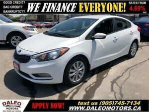2015 Kia Forte 1.8L LX+| HEATED SEATS| BLUETOOTH| SAT RADIO