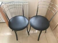 John Lewis bistro chairs set of 2