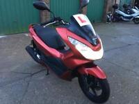 Honda PCX 125 2014 1 year MOT £1650 no offers .