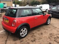 RED MINI MUST SEE 12 MONTHS MOT!!